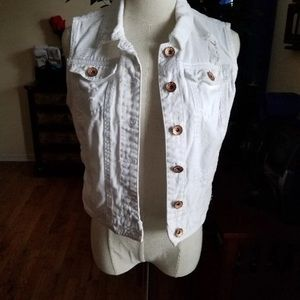 Jackets & Blazers - 🌻Denim vest 🌻